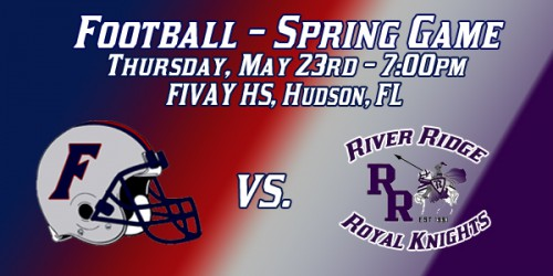 Football: Spring Game Thursday vs. River Ridge