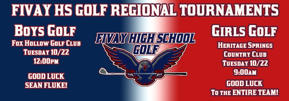 Golf Regional Play