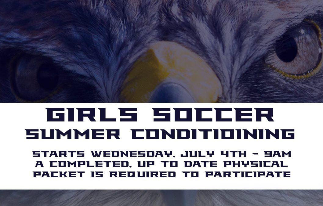 2018 Girls Soccer Summer