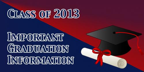 2013 Grad Info