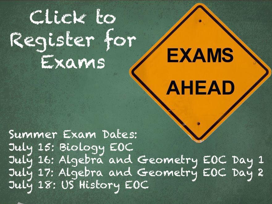Summer Exams