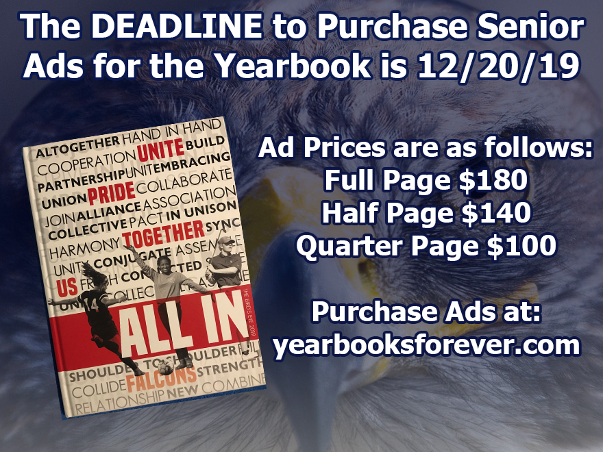 Senior Yearbook Packages