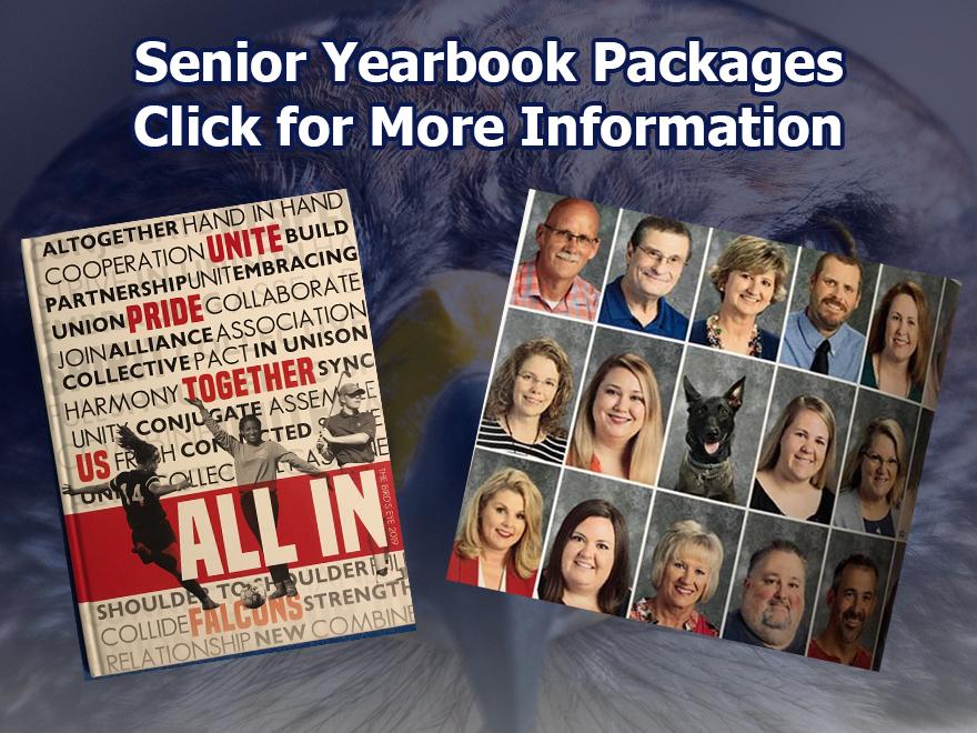 Senior Yearbook Packages