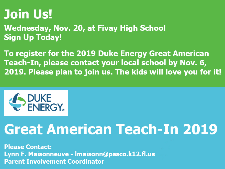2019 Great American Teach In