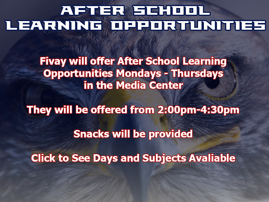 After School Learning Opportunities