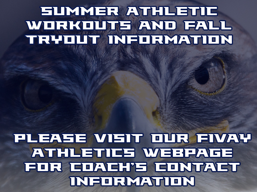 Summer Athletics and Fall Tryouts