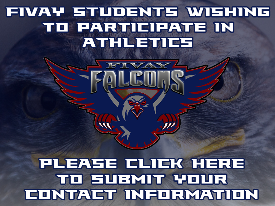 Prospective Student Athletes – Please Click Here to Submit Contact Information