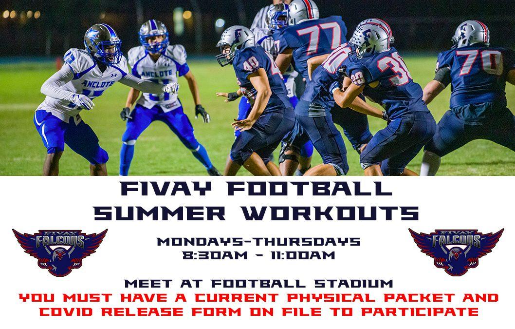 Football Summer Workouts