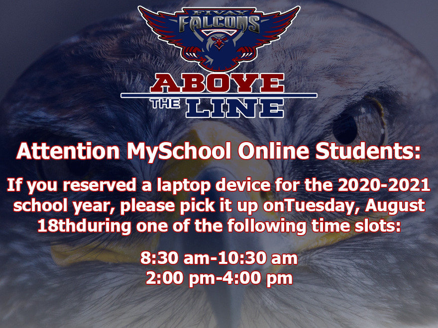 MySchool Online Device Distribution