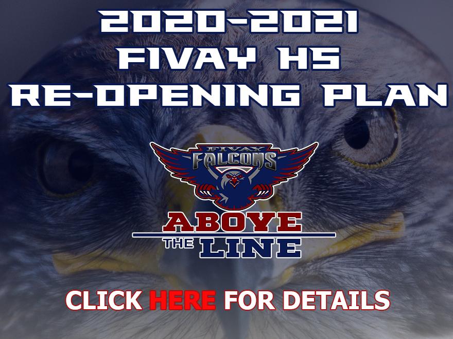 2020-21 Fivay HS Re-Opening Plan