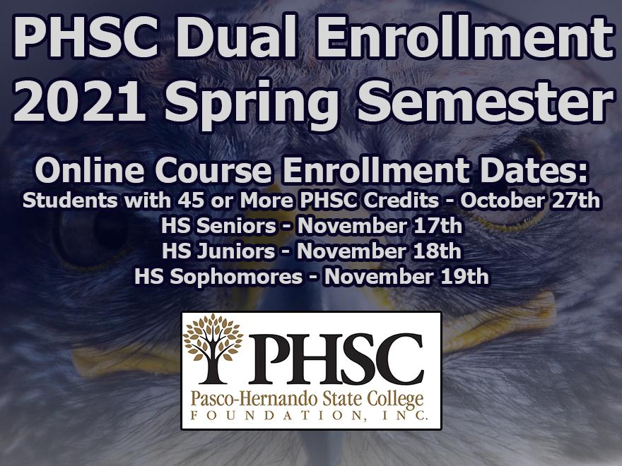 Spring Dual Enrollment Registration Information